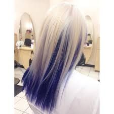 Image Result For Blonde Hair With Blue Underneath Pink Blonde