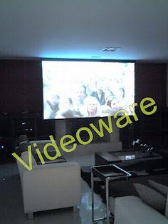 VIDEOWARE A Tecnologia do conforto.  FOTO SEM NENHUMA PRODUÇÃO. #hometheater #automaçãoresidencial