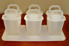 Tupperware popsicle molds and making my own popsicles