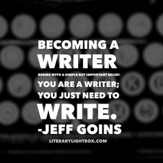 """Loretta Milan on Twitter: """"""""Becoming a writer begins with a simple but important belief..."""" - Jeff Goins #quoteoftheday #amwriting #books https://t.co/GvYk2vEphZ"""""""