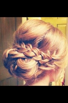 Bridesmaid hairstyle idea for this weekend Do you want latest bridesmaid hair styles just enter http://www.iwedplanner.com/wedding-health-and-beauty/