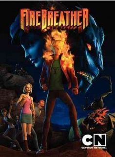 Firebreather (DVD)--Firebreather, Cartoon Network's first world premiere original CGI movie event, delivers fierce action in the clash of two worlds where dragons roam the Earth and past secrets are exposed. At the center of it all, teenager Duncan struggles to find his place as half-Kaiju and half-human. Based on the comic book series by Phil Hester and Andy Kuhn, Firebreather is directed by Peter Chung (Aeon Flux). This DVD is hotter than ever.