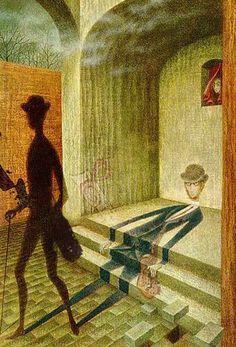 Phenomenon by Remedios Varo (1908 - 1963)