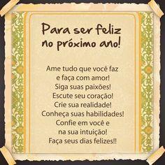 #Mensagens de #FelizAnoNovo