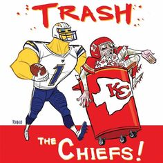 Game #1, 2016 ~ @ Kansas City You GOT this, Chargers!