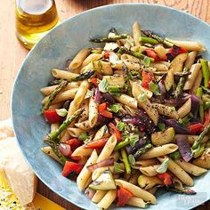 This grilled veggie pasta salad tastes like summer. Featuring delicious vegetables like zucchini, sweet peppers, onions, and other tasty ingredients, you'll love how quick and easy this dinner side recipe is to make.