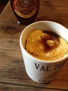 Recipe: Microwave Pancake in a Mug   J'aime Dinner Table [Lyon Edition]