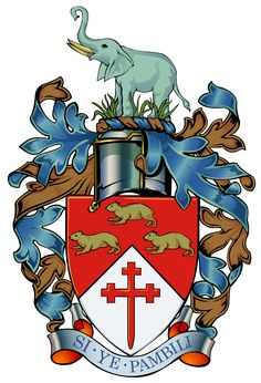 Bulawayo Zimbabwe COA - Bulawayo – Wikipédia, a enciclopédia livre South African Flag, African States, Zimbabwe History, National Parks Map, Armada, Knights Templar, Family Crest, Crests, Coat Of Arms