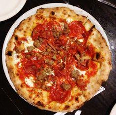 Thin crust pizza- Triple D style!
