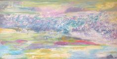 UNDER THE SEA acrylic original 24 x 48