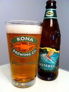 Kona Brewing: Castaway IPA: This is a very good and very hoppy IPA.  Clara really likes this one.
