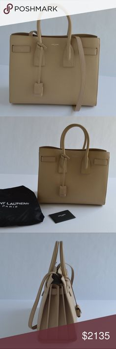 Saint Laurent Sac de Jour Small Satchel Bag Brand new Saint Laurent Bags Satchels