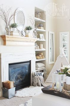 Spring Home Tour - Thrifty & Chic