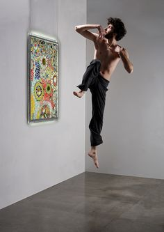 Stefano Mauroner Production, dance, light, led, color, jump, man, guy, dancer