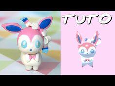 TUTO FIMO   Nymphali / Sylveon (de Pokémon Rumble World) - YouTube