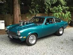 Chevrolet Vega, Chevrolet Camaro, American Classic Cars, American Muscle Cars, Chevy Muscle Cars, Vagas, Cool Trucks, Drag Racing, Hot Cars