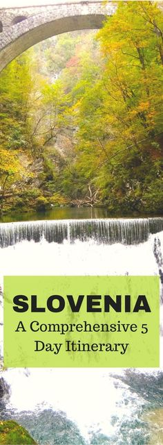 Slovenia is a wonderful destination in Europe... uncrowded, naturally beautiful, easy to navigate.  Click here for a 5 day Slovenia Itinerary through Ljubljana, Lake Bled, Vintgar Gorge, Kobarid, the Soca Valley and more