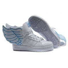 Adidas x Jeremy Scott JS Wings white blue Quero muito     1702c2173