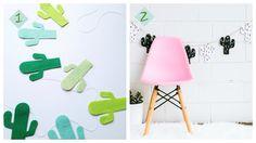 Diys con cactus, deco low cost by H A B I T A N 2 www.habitan2.com Decoración handmade para hogar y eventos
