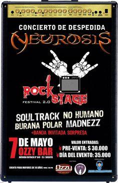Rock Stage Festival 2.0  Lo hacemos por las bandas