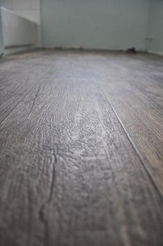 sheet vinyl that looks like wood!