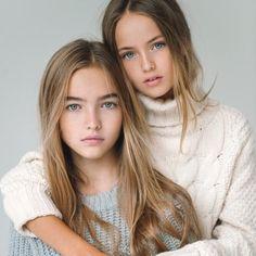 Kristina Pimenova y Anastasia Bezrukova, niñas modelos rusas