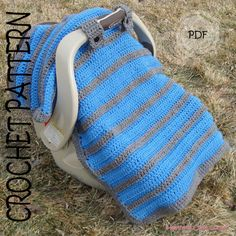 CROCHET PATTERN - Simply Sweet Car Seat Canopy / Blanket on Etsy, $5.00