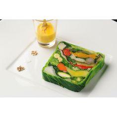 Beautiful vegetable terrine. I need the recipe!