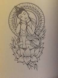 tattoo buddah drawing buddah tattoo peace tattoo buddha tattoo this Kunst Tattoos, Bild Tattoos, Body Art Tattoos, Tattoo Drawings, Tattoo Arm, Tatoos, Ganesha Tattoo Thigh, Tattoo Sketches, Buddah Sleeve Tattoo
