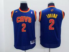 NBA Youth #2 blue jersey