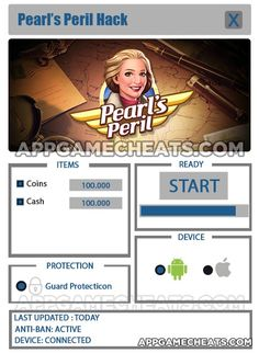 Pearl's Peril Cheats, Tips & Hack for Coins & Cash  #Adventure #PearlsPeril #Puzzle #Strategy http://appgamecheats.com/pearls-peril-cheats-tips-hack/