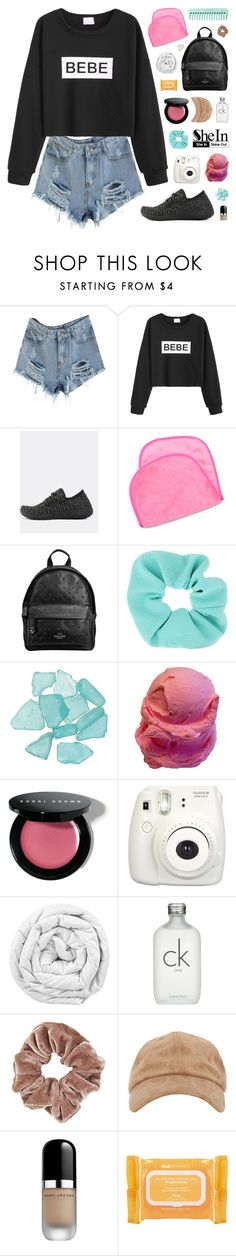 """SheIn"" by novalikarida ❤ liked on Polyvore featuring WithChic, Miu Miu, Topshop, Bobbi Brown Cosmetics, Fujifilm, Brinkhaus, Calvin Klein, Marc Jacobs, Ole Henriksen and Sheinside"