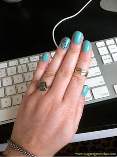 double skinny ring $1