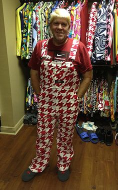 Golf School John Daly in his custom Red Tooth overalls Our Residential Golf Lessons are for… Pga Tour Players, Teaching Credential, Who Is A Veteran, John Daly, Golf Academy, Golf Instructors, Golf Score, Golf Magazine, Golf Channel