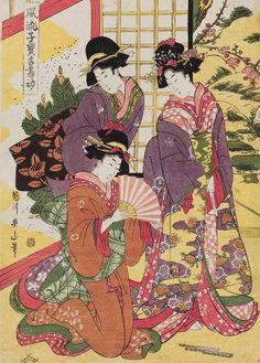 Fûryû kodakara kissho hajime, Эдо (502x700, 473Kb)