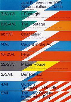Schauspielhaus Zürich - 1970