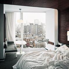 bedroom, room, and bed-bild