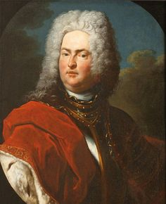 Prince Big Wig! Prince Johann Adam Andreas I (1657-1712). Painted by Peter van Roy (1683-1738). Permanent loan in the Liechtenstein National Museum. ©