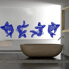 Wall decal art decor decals sticker koi fish by DecorWallDecals, $28.99