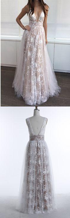 Sexy V-Ausschnitt Empire Spitze Tüll Brautkleid Hochzeitskleid abendkleider abendkleid ballkleid ballkleider abiballkleid abiballkleider lange abiballkleider lange ballkleider