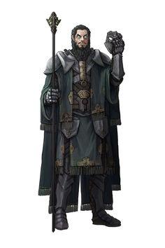 Pharan Tuzalid- O Supremo- sumo sacerdote da Magia-  mago/clerigo