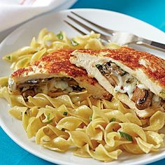 25 Best Budget Recipes | Mushroom-Stuffed Chicken | CookingLight.com $2.49/serving