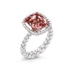 Boghossian Les Merveilles padparadscha sapphire ring