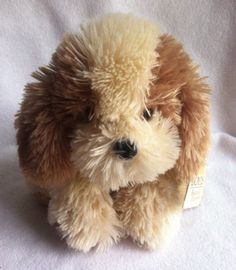 Boyds-Bear-Friends-Dog-Buster-Cuddle-Fluff-With-Tags-Retired-2006-9-NOS