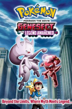 TomatoVision TV: The 2013 feature Pokemon the Movie: Genesect and the Legend Awakened will premiere on Cartoon Network on Oct. The film will was originally released in Japan as Pocket Monsters Best Wishes the Movie: Pokemon Mewtwo, Pokemon Film, Pokemon 2000, Mega Mewtwo, Pikachu, Pokemon Movies, Cool Pokemon, Powerful Pokemon, Mythical Pokemon