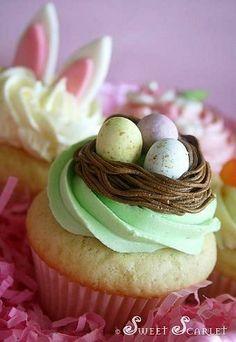 10 Adorable Easter Cupcake Ideas
