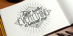 Typography Mania #284 | Abduzeedo Design Inspiration