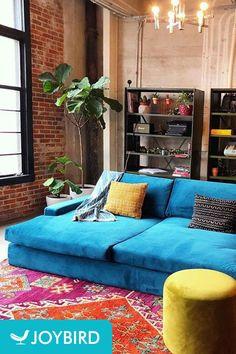 Joybird Anton Daybed - Photo by Daniel N. Home Living Room, Room Design, Interior, Home Decor Bedroom, Home Furniture, Home Decor, Apartment Decor, Moroccan Decor Living Room, Vintage Living Room Design