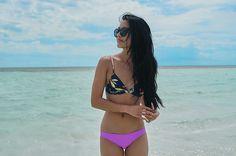 More looks by Carissa Alvarado: http://lb.nu/weariam  #casual #sporty #weekendgetaway #bahamas #travel #travelwear #bikini #swimsuit #swimwear