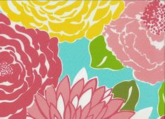 Lilly Pulitzer   Lilly-Pulitzer-Fabric